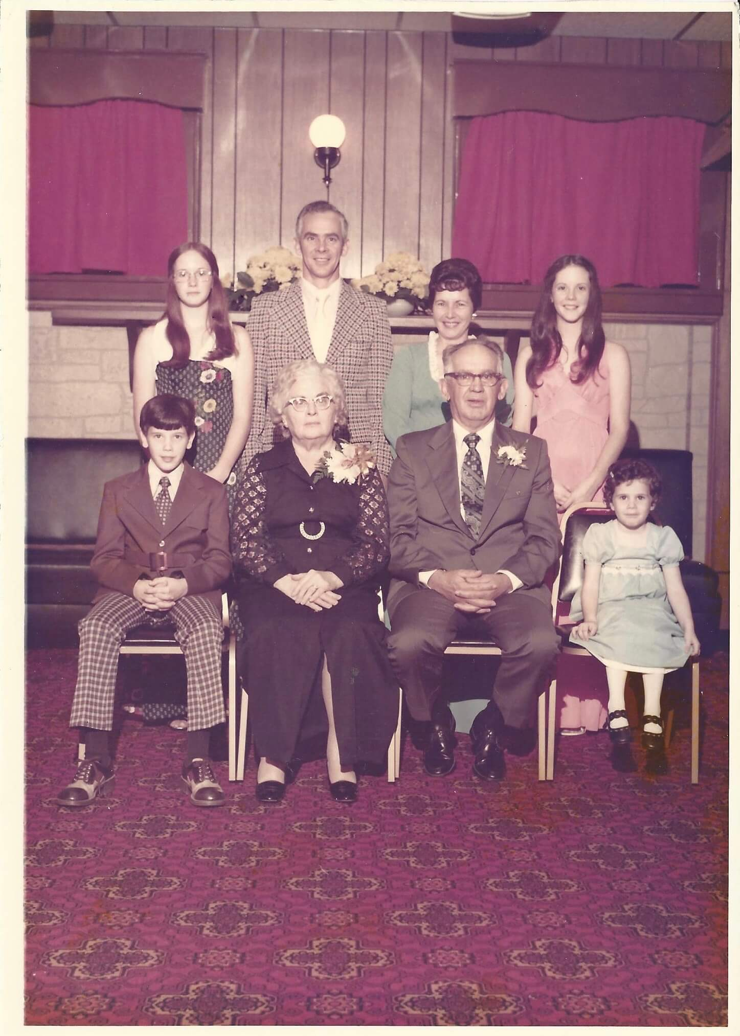 a 1974 American family
