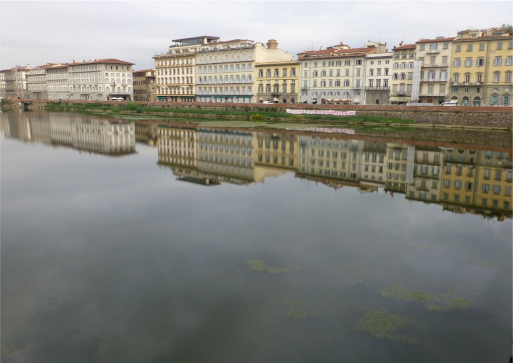 Reflective River, (the Arno) Florence, Italy
