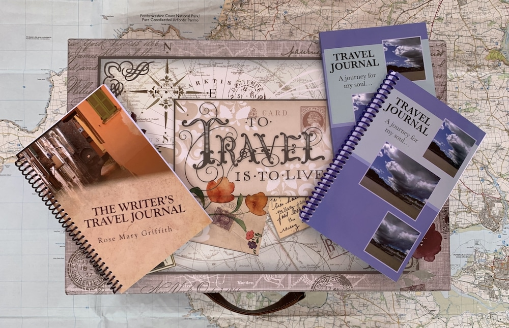 Travel journals to record memories