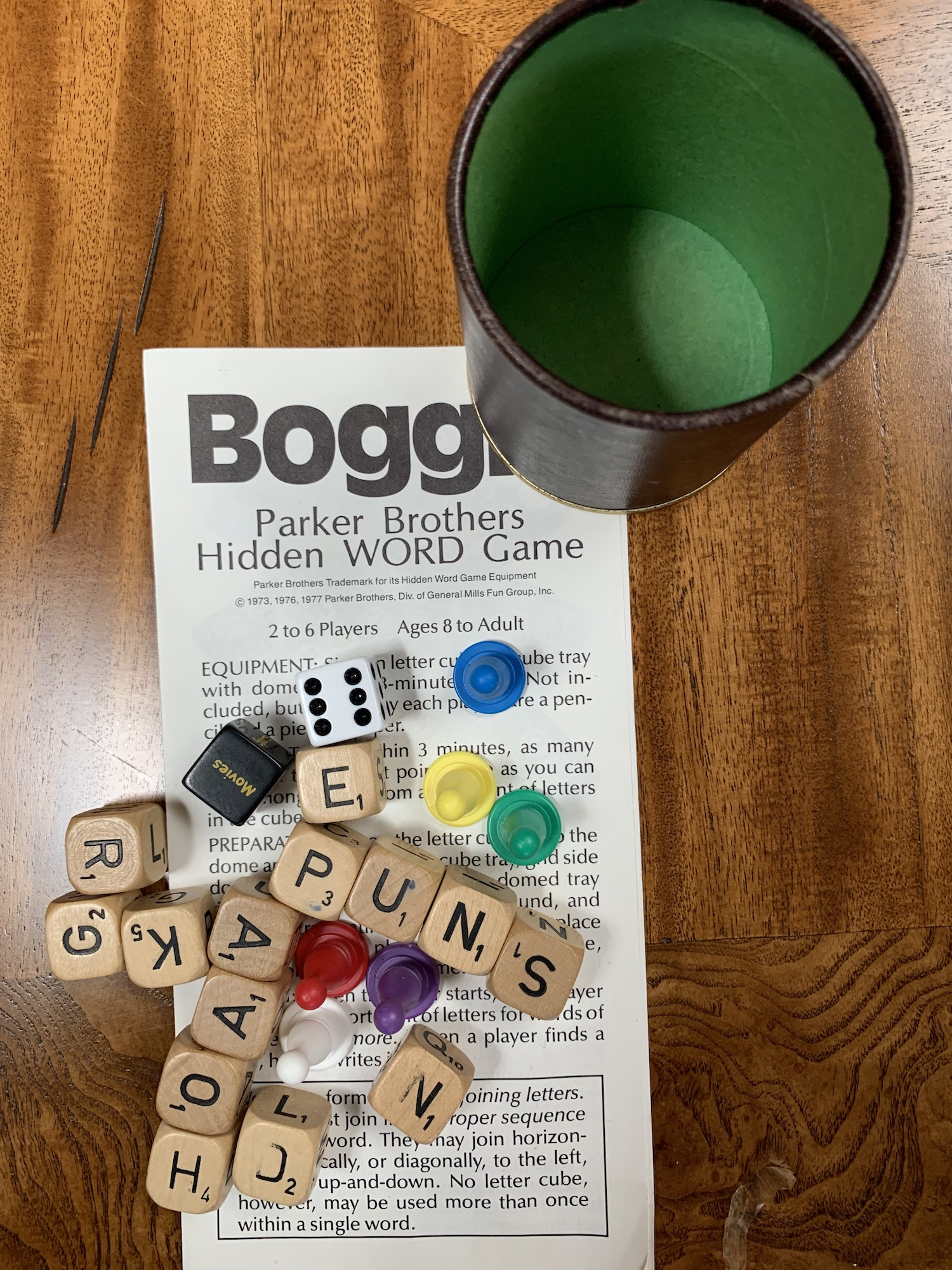Word game, Boggle