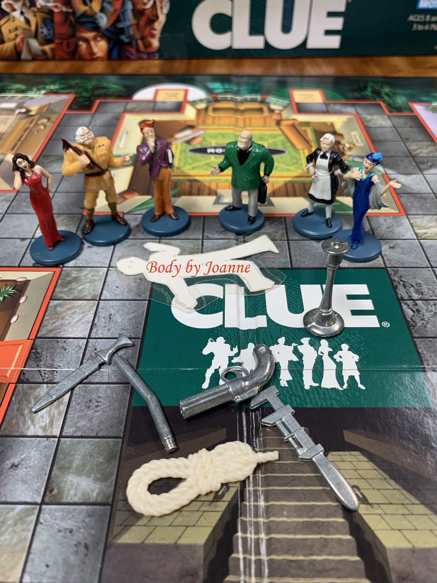 Board game of Clue