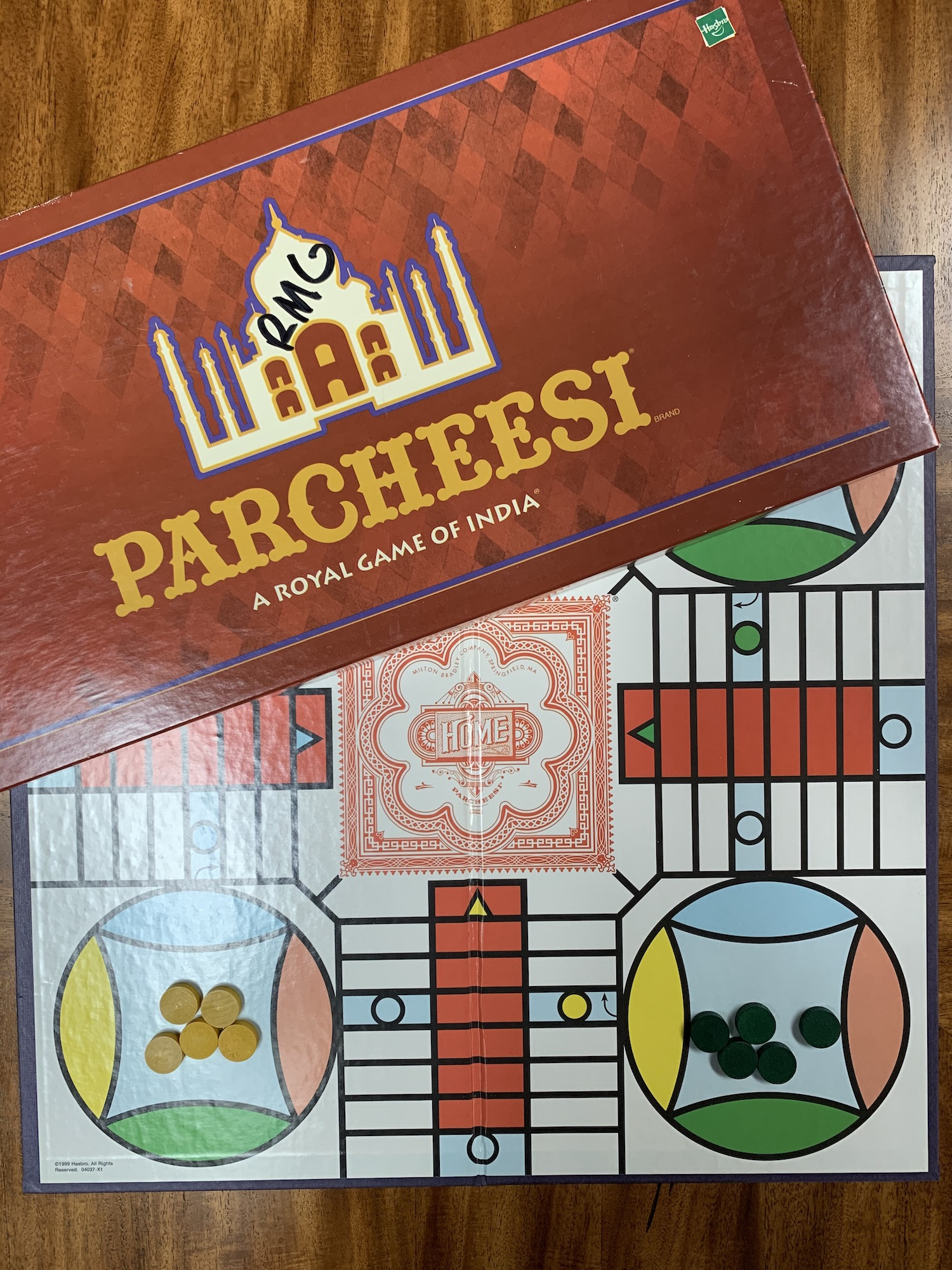 Exciting Board game of Parcheesi