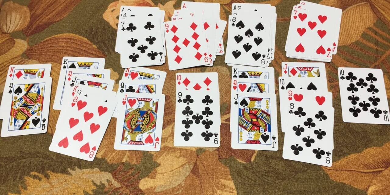 The Value of Teaching Kids Solitaire. With Real Cards.