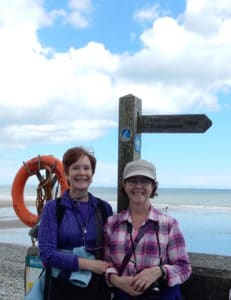 Amroth, the start of the Pembrokeshire Coast Path