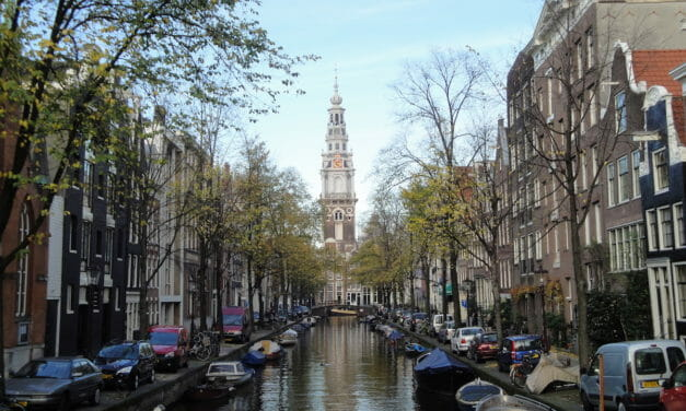 The Allure of Attractive Amsterdam, The Netherlands
