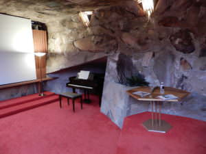 Cabaret theatre at Taliesin West, Arizona