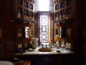 Opulent bathroom in the Marquess' apartment