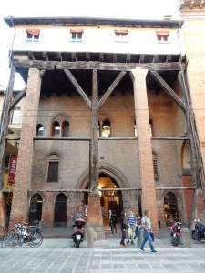 How old are these beams? Bologna, Italy