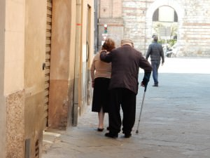Couple in Siena