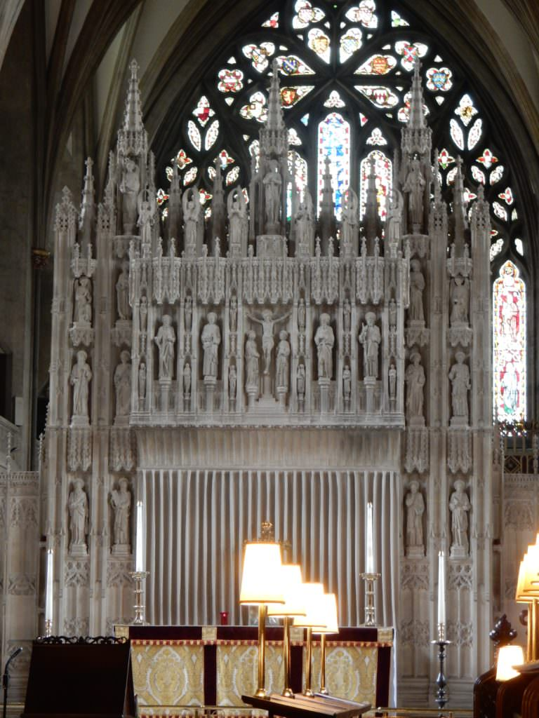 High Altar in Bristol Cathedral, England