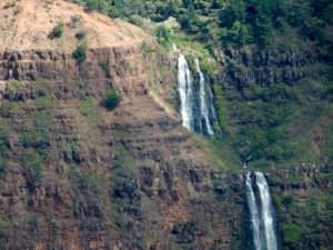 Falls at Waimea Canyon, Kauai