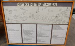 Key to Mural history of Tenby