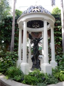 Lady at the entrance, Phipps Conservatory