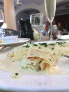 Longhi's Lobster Cannelloni