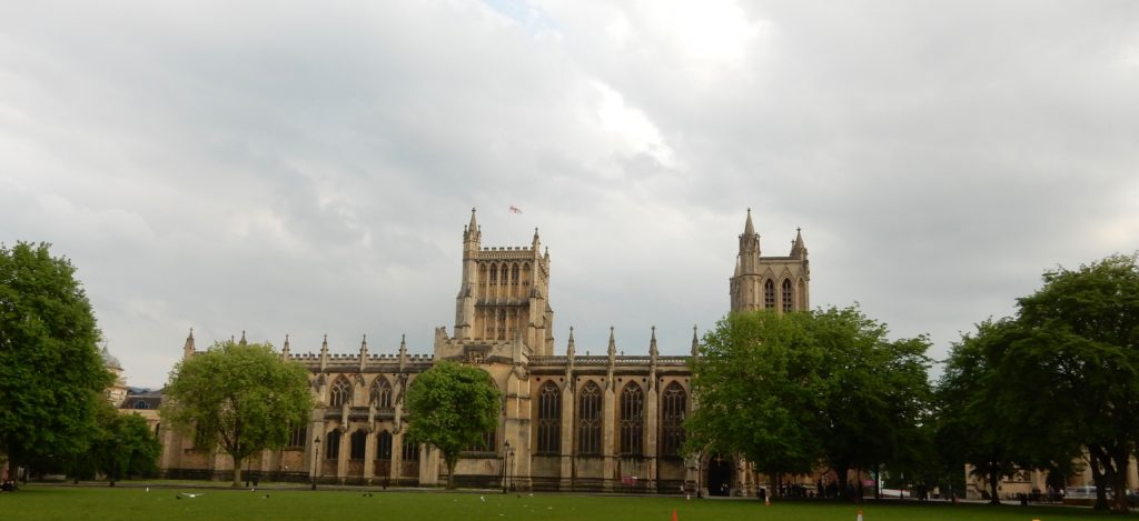 Long view of Bristol Cathedral