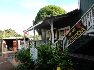 Old Koloa Town - go up