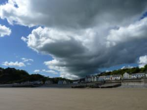 Clouds over Amroth, Pembrokeshire, Wales