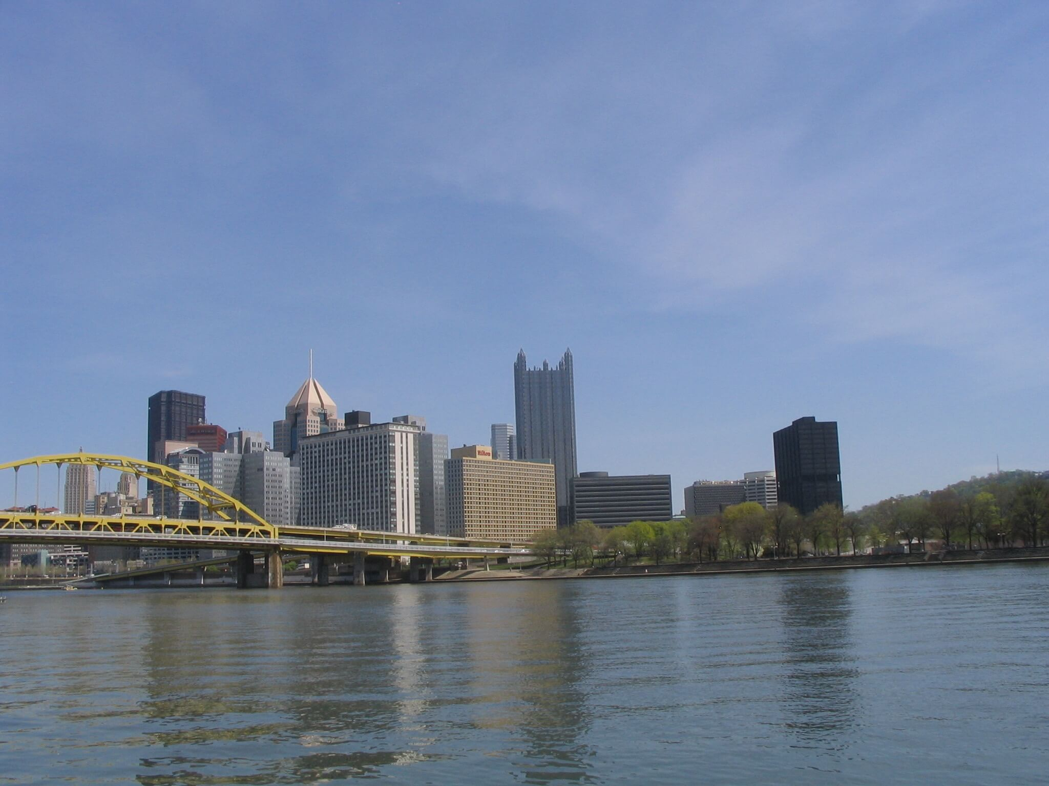Downtown Pittsburgh from North Shore