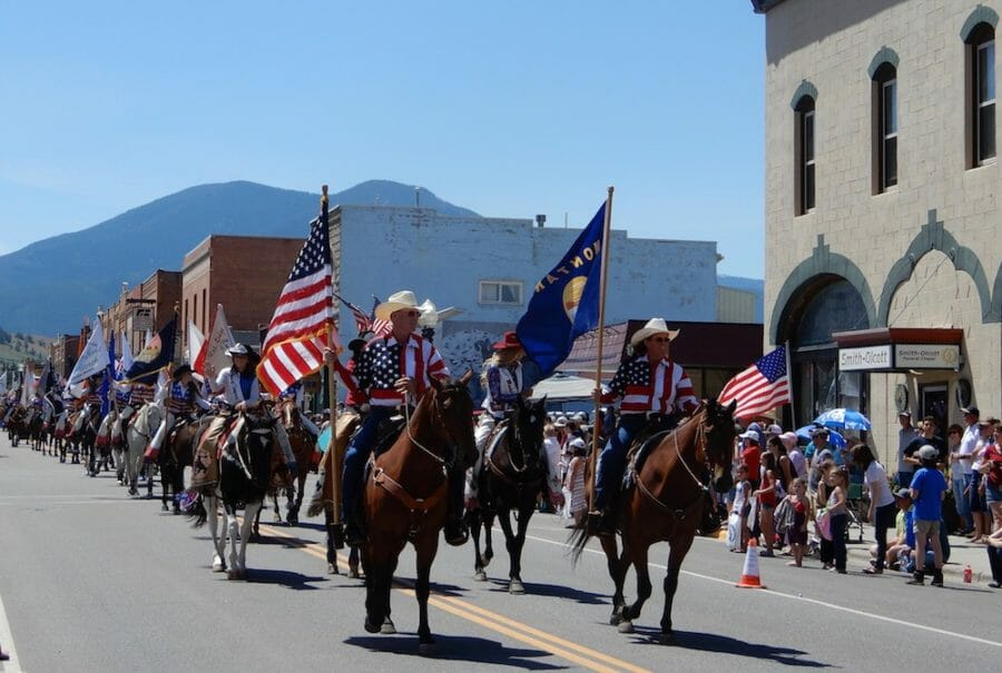 Red Lodge Fourth of July parade