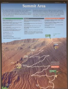 Road & trails at Haleakala