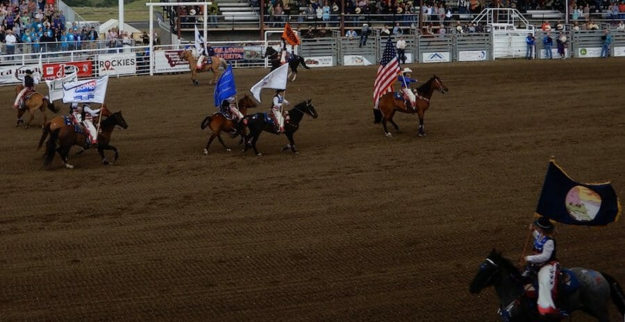 Red Lodge Home of Champions Rodeo