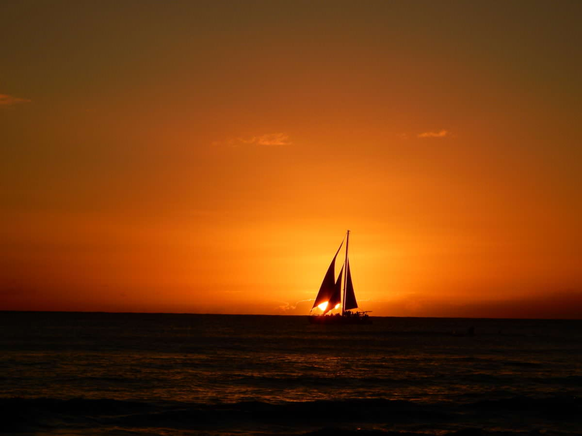 Sights and Sunsets of Waikiki Beach, Oahu
