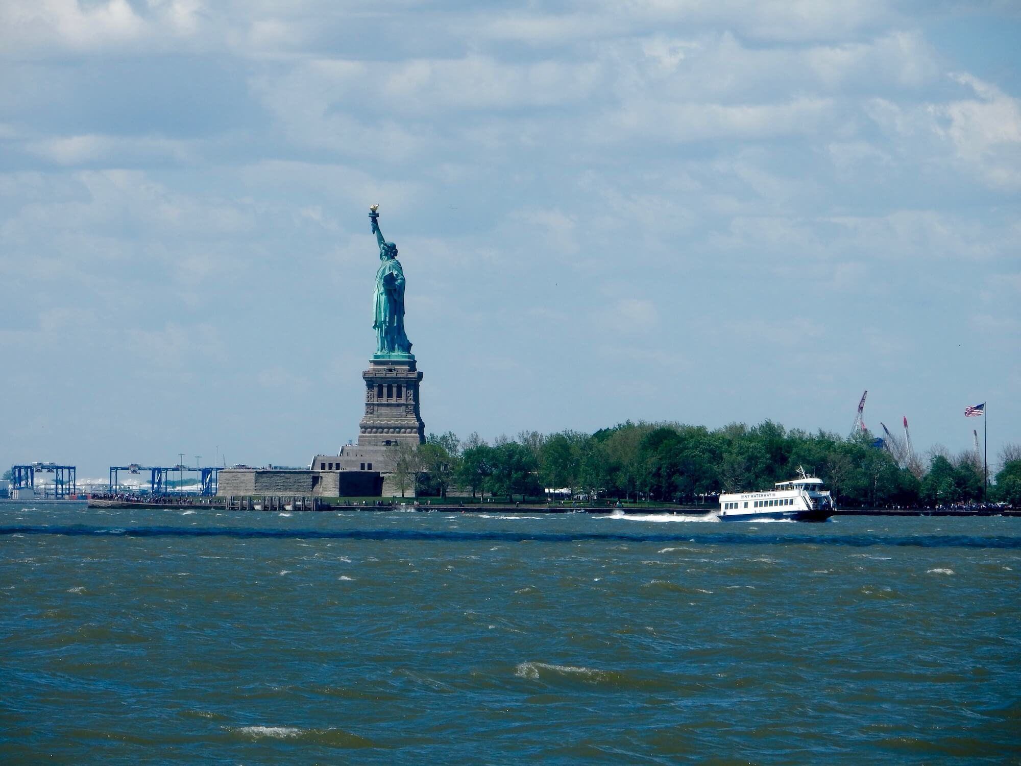 Statue of Liberty, Ellis Island