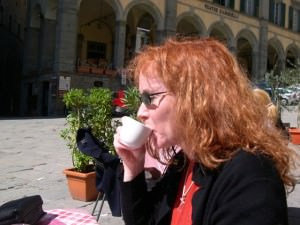 Ah Cortona, my first Italian coffee