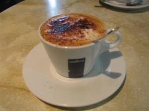 Lavazza latte in Italy