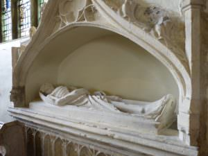 St Mary's effigy showing decay - body wastes away, the soul is with God