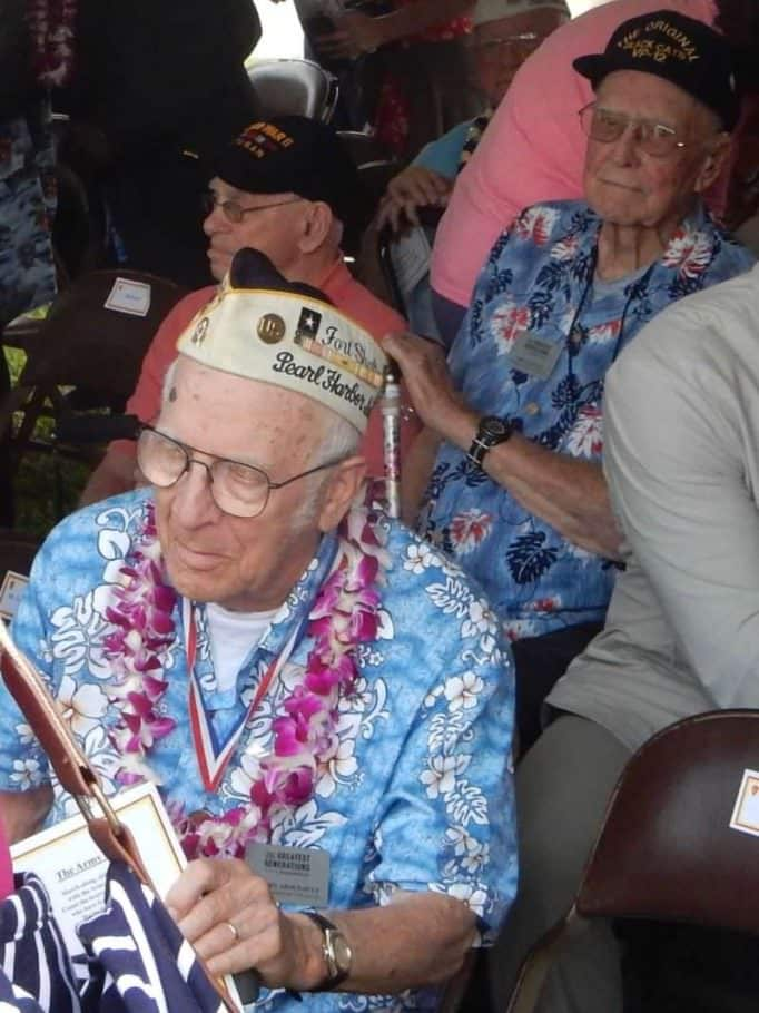 World War II Veterans at Pearl Harbor, 75th Anniversary