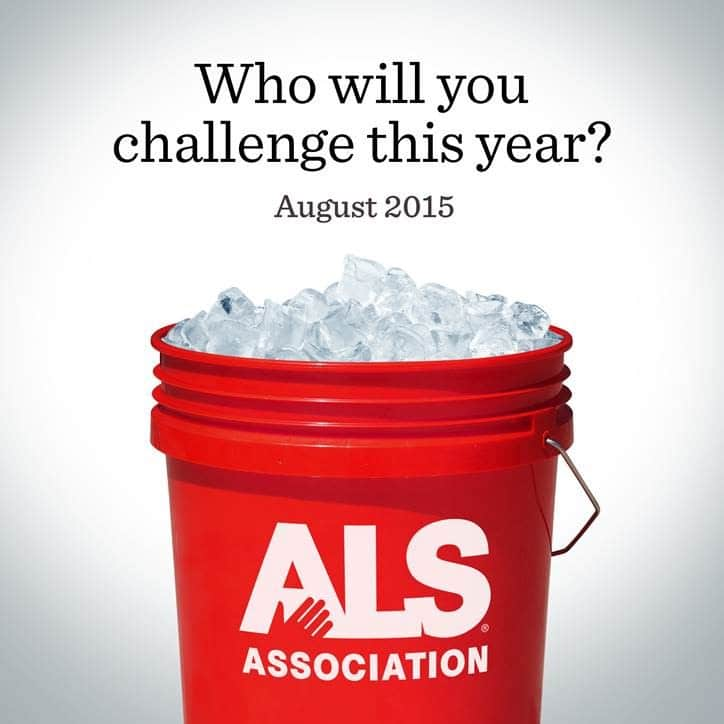 ALS Ice Bucket Challenge – it's back!