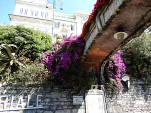 Don't forget to look up when walking from Rapallo to Santa Margherita