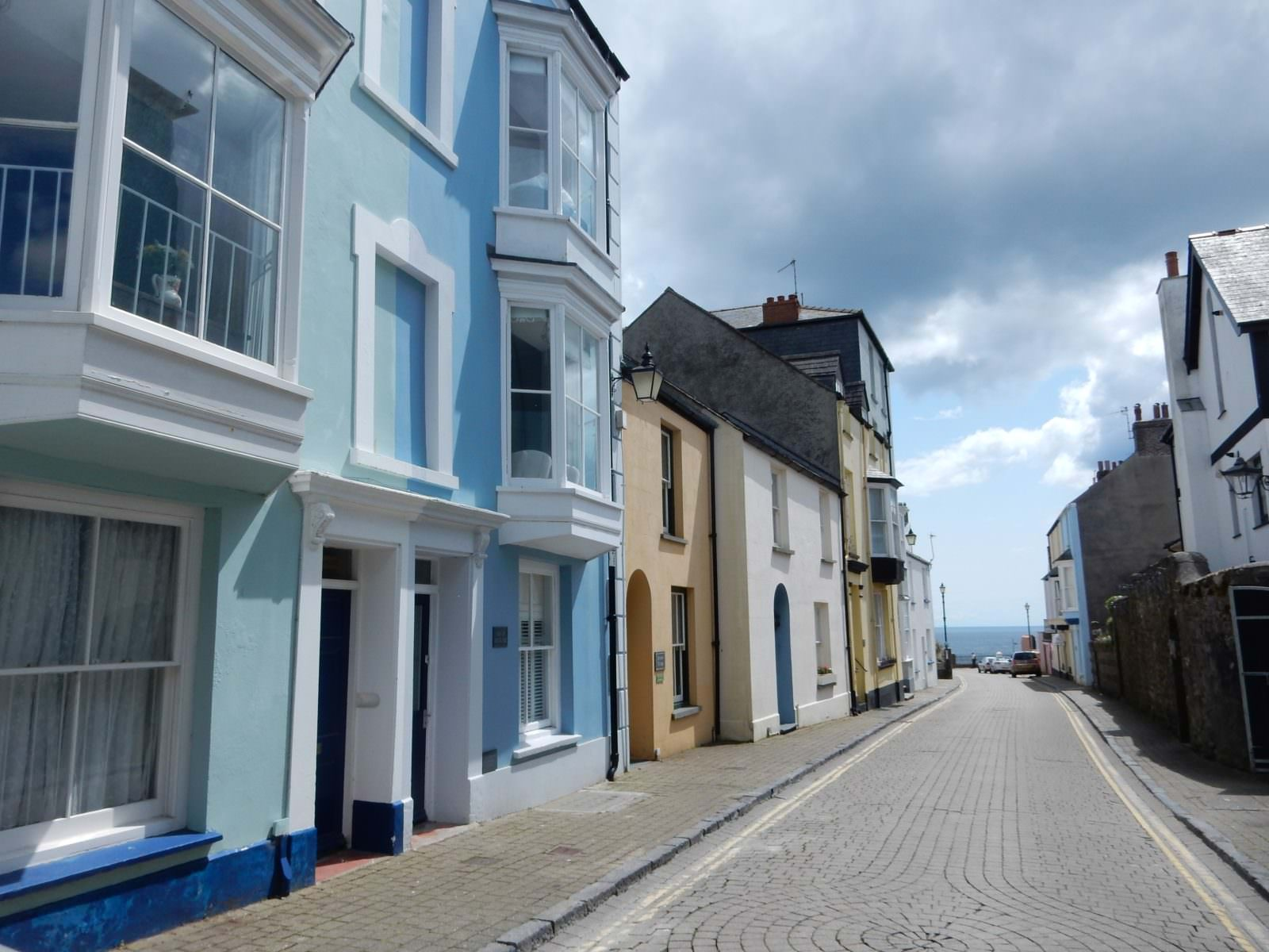 Tenby – a delightful combo of the Cinque Terre and Charleston.