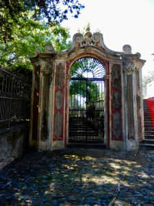 Sights along the way - architectural gates, Liguria