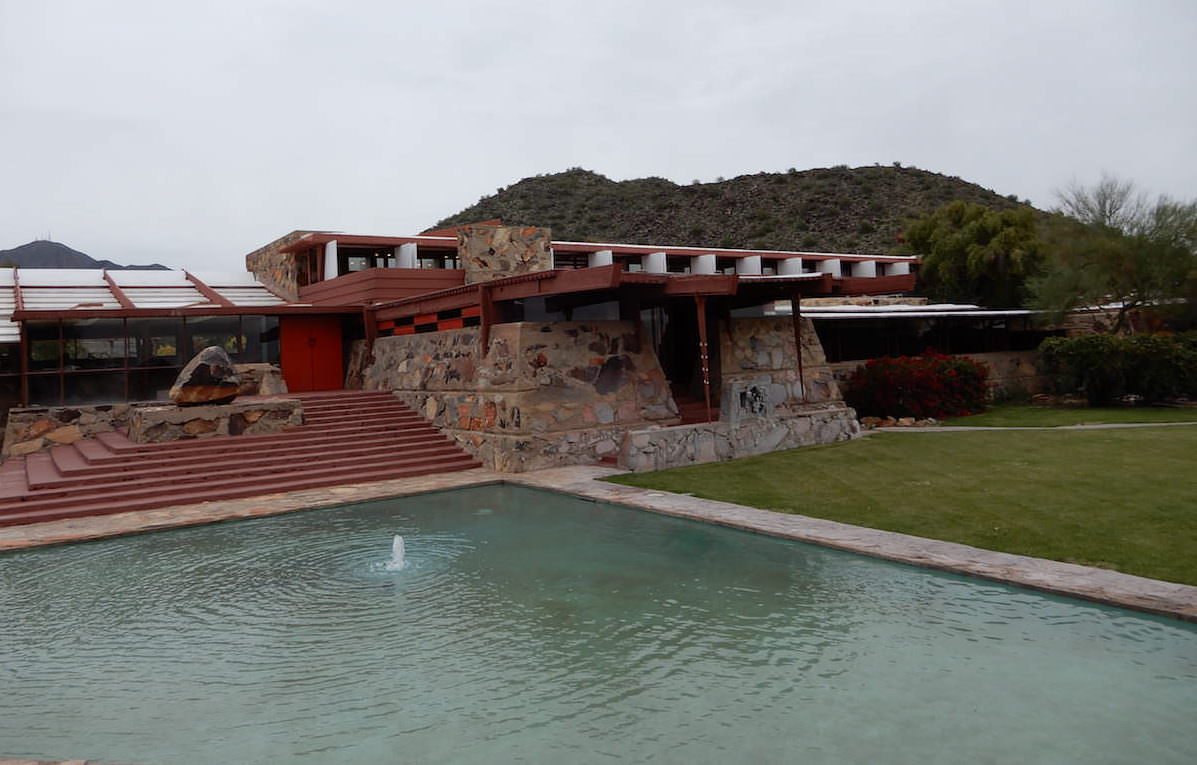 Touring Frank Lloyd Wright's Taliesin West
