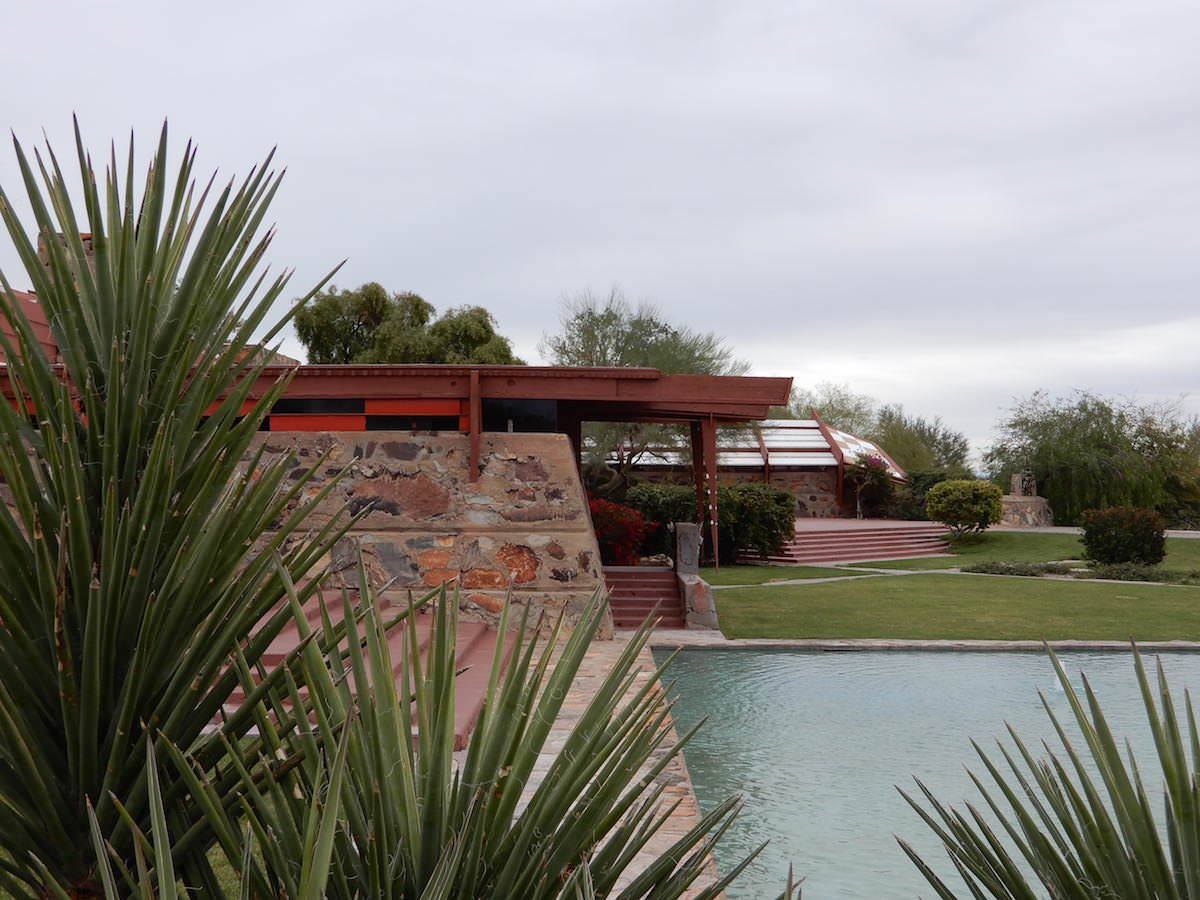 Taliesin West grounds, Arizona
