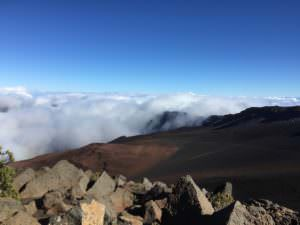 Vista on the Summit on Haleakala